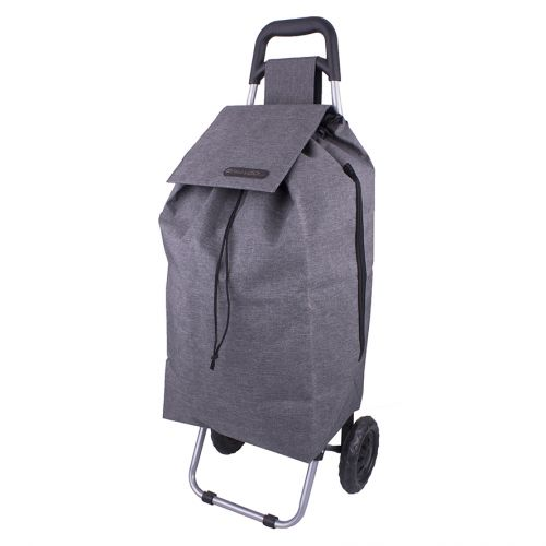"SHOP & GO ""SPRINT"" SHOPPING TROLLEY - CHARCOAL GREY"