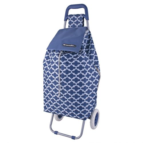 "SHOP & GO ""SPRINT"" SHOPPING TROLLEY - MOROCCAN NAVY"