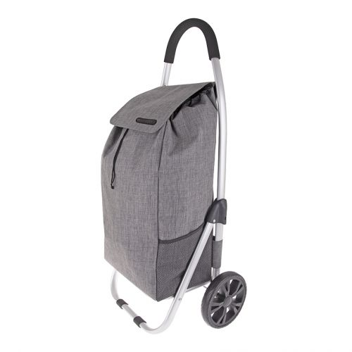 "SHOP & GO ""URBAN"" ALUMINIUM SHOPPING TROLLEY - CHARCOAL GREY"