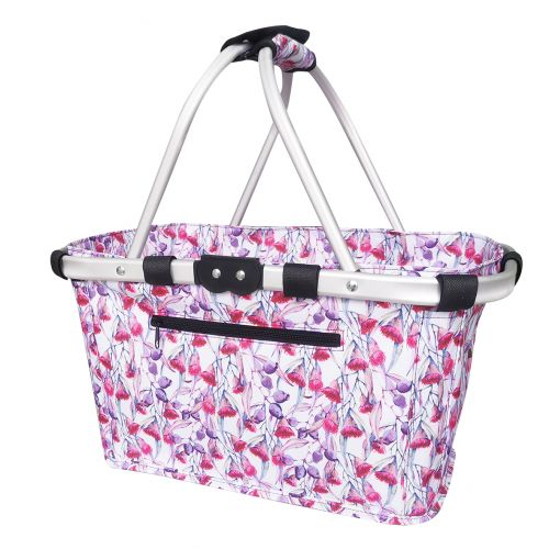 SACHI TWO HANDLE CARRY BASKET - GUMNUTS