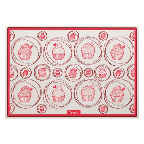 TOVOLO SILICONE BISCUIT SHEET/BAKING MAT 42 X 29CM