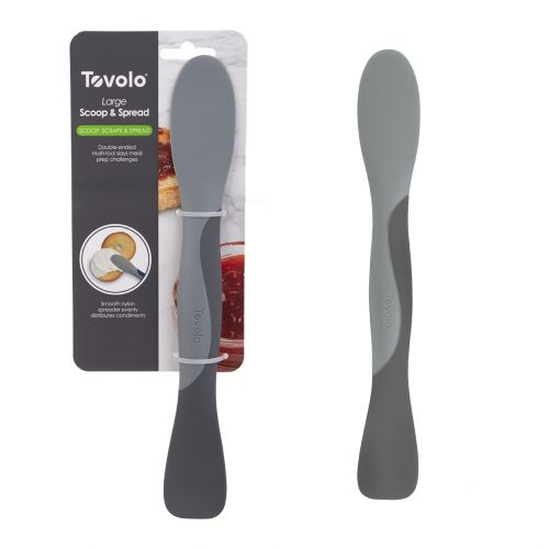 TOVOLO LARGE SCOOP & SPREAD - CHARCOAL
