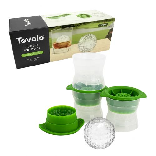 TOVOLO GOLF BALL ICE MOULD SET 3 - GREEN