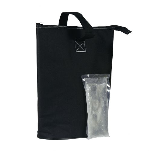 ARGYLE 2 BOTTLE PROMOTIONAL INSULATED WINE BAG & CHILL - BLACK
