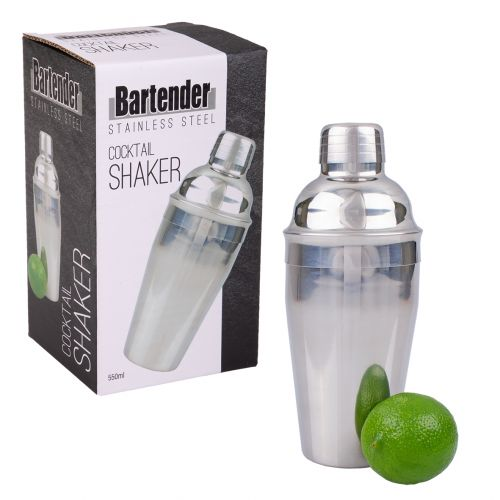 BARTENDER S/S COCKTAIL SHAKER 550ML