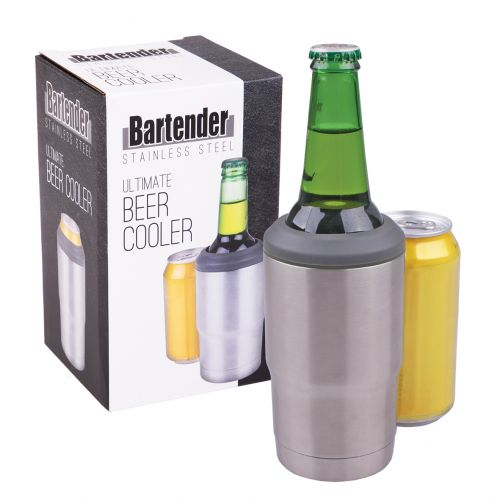 BARTENDER STAINLESS STEEL ULTIMATE BEER COOLER
