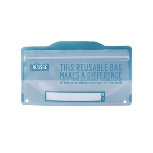 RUSSBE SNACK BAGS PACK 8 - BLUE STATEMENT