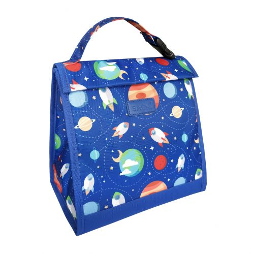 "SACHI ""STYLE 226"" INSULATED JUNIOR LUNCH POUCH - OUTER SPACE"