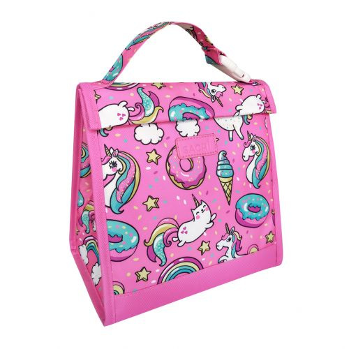"SACHI ""STYLE 226"" INSULATED JUNIOR LUNCH POUCH - UNICORNS"