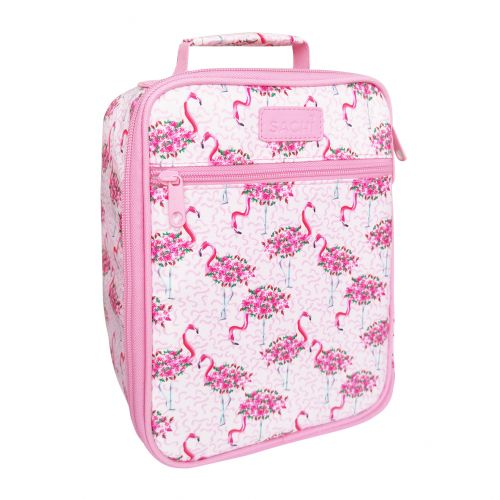 "SACHI ""STYLE 225"" INSULATED JUNIOR LUNCH TOTE - FLAMINGOS"