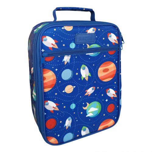 """SACHI """"STYLE 225"""" INSULATED JUNIOR LUNCH TOTE - OUTER SPACE"""