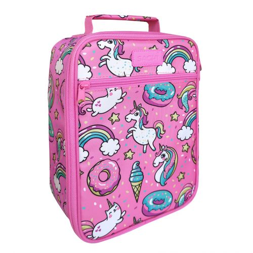 "SACHI ""STYLE 225"" INSULATED JUNIOR LUNCH TOTE - UNICORNS"