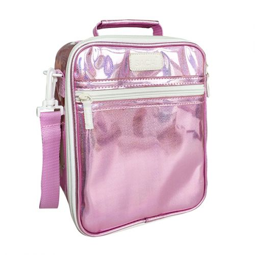 """SACHI """"STYLE 225"""" """"LUSTRE"""" INSULATED JUNIOR TOTE - PINK"""