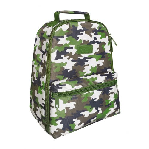 """SACHI """"STYLE 227"""" INSULATED BACKPACK - CAMO GREEN"""