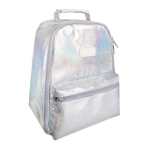 """SACHI """"STYLE 227"""" INSULATED BACKPACK - LUSTRE PEARL"""