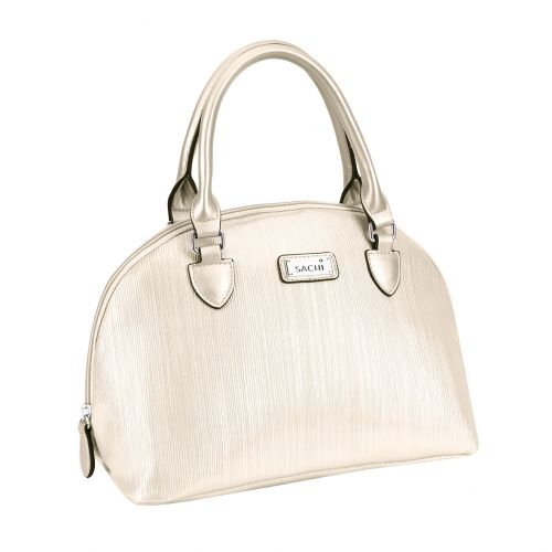 """SACHI """"STYLE 107"""" INSULATED LUNCH BAG - NUDE"""