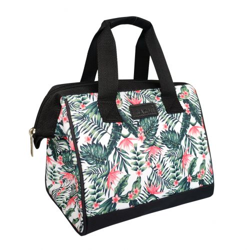 """SACHI """"STYLE 34"""" INSULATED LUNCH BAG - BIRD OF PARADISE"""