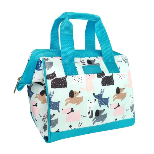 """SACHI """"STYLE 34"""" INSULATED LUNCH BAG - DOG PARK"""