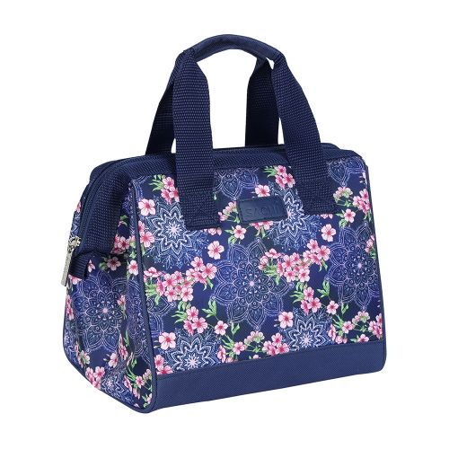 """SACHI """"STYLE 34"""" INSULATED LUNCH BAG - FLORAL MANDELA"""