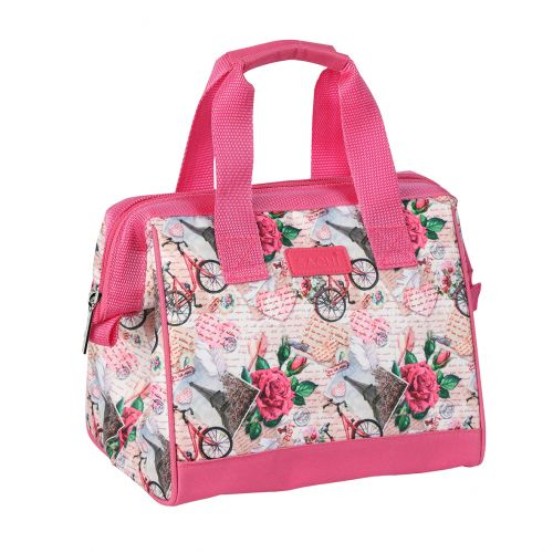 """SACHI """"STYLE 34"""" INSULATED LUNCH BAG - PARISIAN DREAMS"""