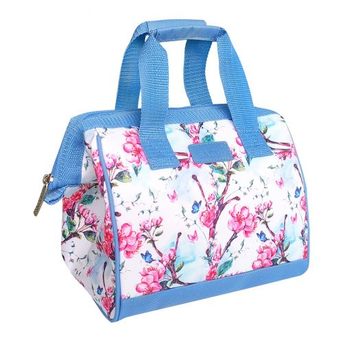 """SACHI """"STYLE 34"""" INSULATED LUNCH BAG - SPRING BLOSSOM"""