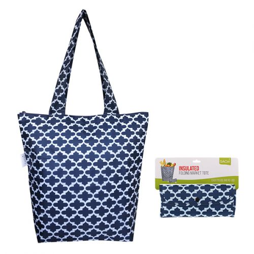 SACHI INSULATED MARKET TOTE - MOROCCAN NAVY