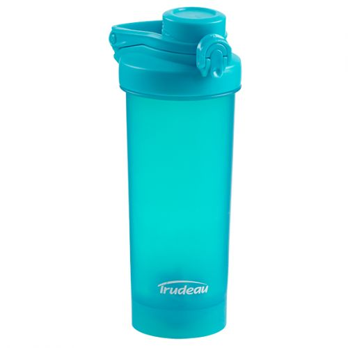 "TRUDEAU ""FUEL"" PROMIXER BOTTLE 700ML - TROPICAL BLUE"