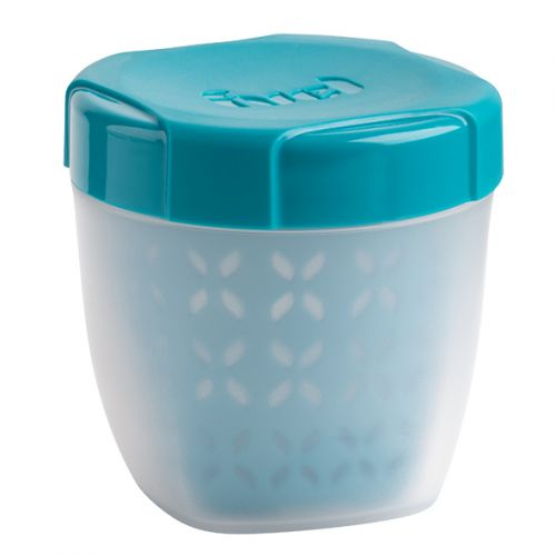 "TRUDEAU ""FUEL"" FRUIT CONTAINER 350ML - TROPICAL BLUE"
