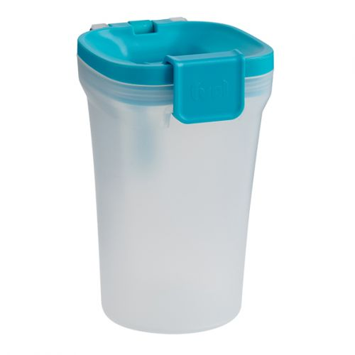 "TRUDEAU ""FUEL"" SNACK BIN - TROPICAL BLUE"