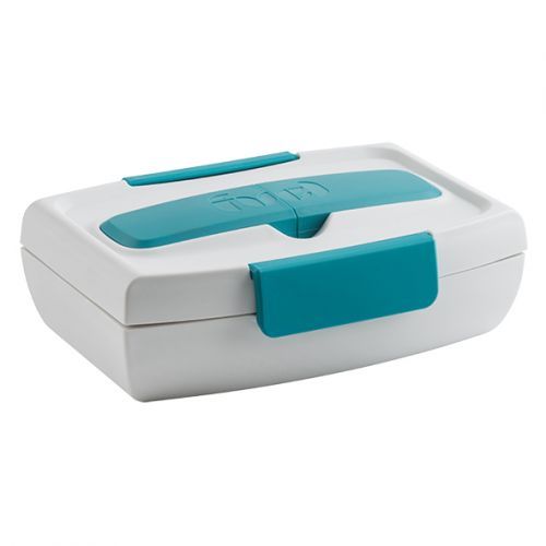 """TRUDEAU """"FUEL"""" FOOD TO GO LUNCH BOX - TROPICAL BLUE"""