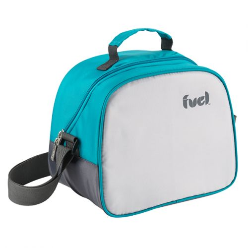 "TRUDEAU ""FUEL"" OVAL LUNCH BAG - TROPICAL BLUE"