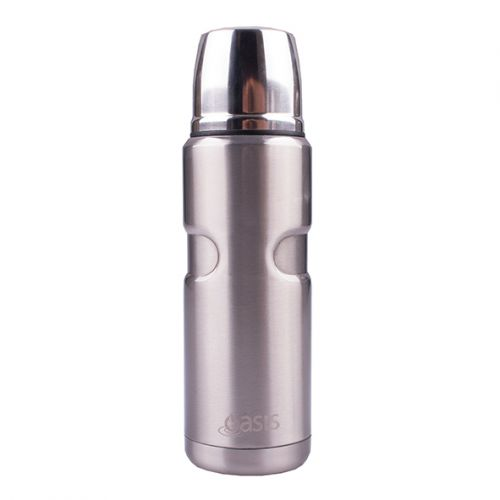 OASIS S/S VACUUM INSULATED FLASK 500ML - SILVER
