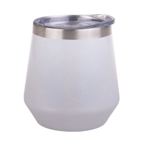 """OASIS """"LUSTRE"""" STAINLESS STEEL DOUBLE WALL INSULATED ALFRESCO TUMBLER 350ML - PEARL"""