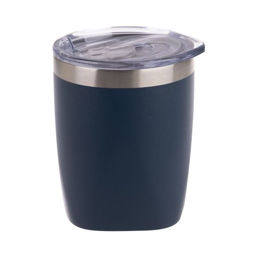 OASIS STAINLESS STEEL DOUBLE WALL INSULATED OLD FASHION TUMBLER 300ML - MATTE NAVY