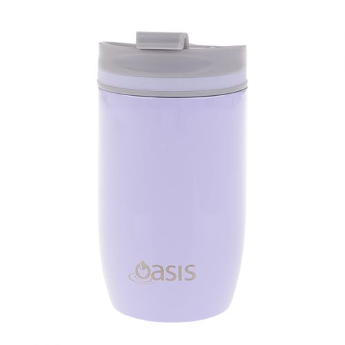 OASIS S/S DOUBLE WALL INSULATED TRAVEL CUP 300ML - LILAC