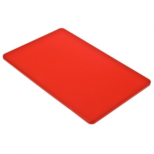 APPETITO PE CUTTING BOARD 250 X 400 X 12MM - RED