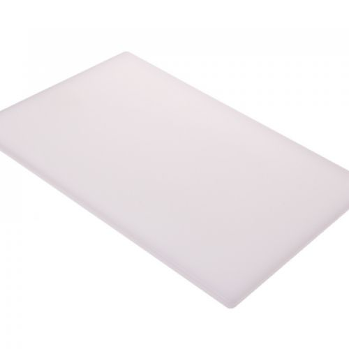 APPETITO PE CUTTING BOARD 300 X 450 X 12MM - WHITE